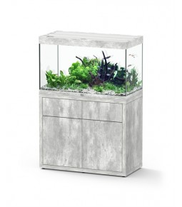 Aqualantis Aquarium Fusion donker noten 70x50x65 met meubel 40 mm (incl. led)