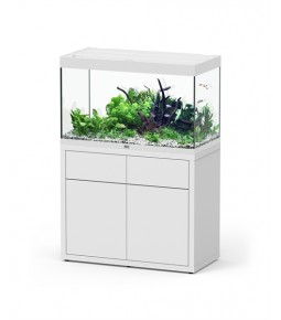 Aqualantis Aquarium Fusion licht noten 70x50x65 met meubel 40 mm (incl. led)